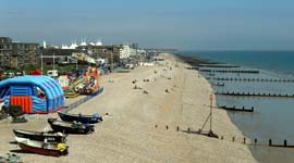 Bognor webcam view east