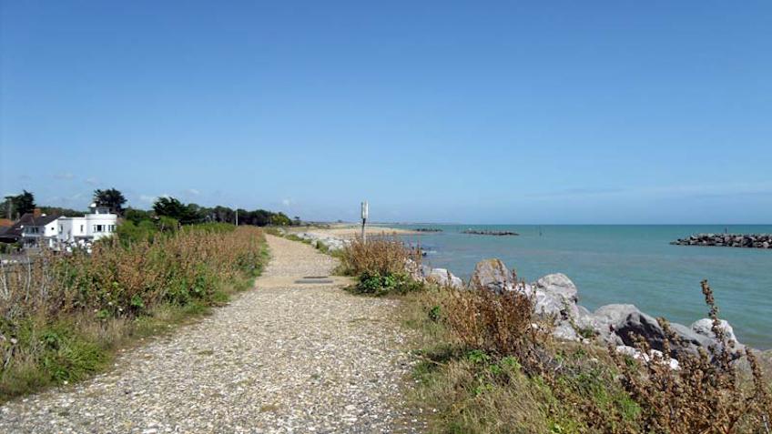 Elmer beach looking east