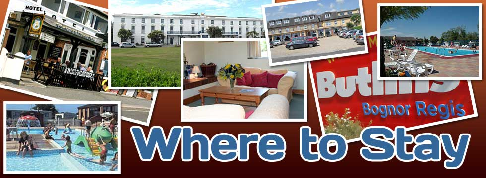 Accommodation in Bognor Regis - where to stay