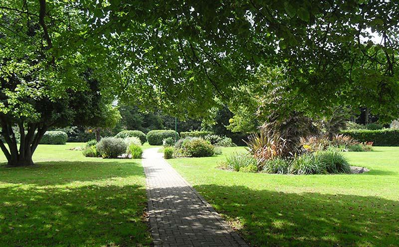 Old Rectory gardens Felpham