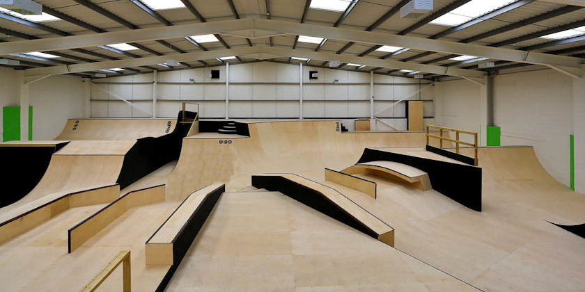 The Base - Skateboard park Bognor Regis