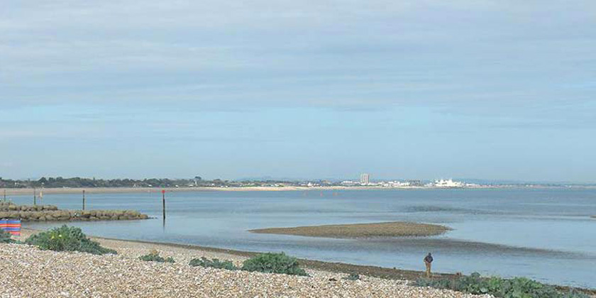 Pagham Harbour nature reserve - towards Bognor Regis