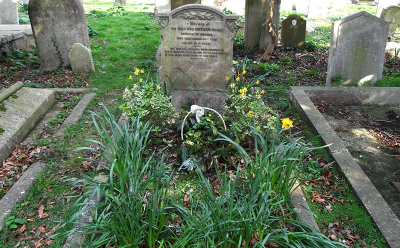 Sir Richard Hothams Grave at St Mary Magdalene Church