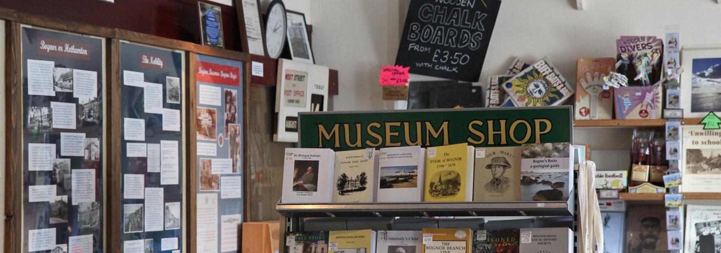 The inside of Bognor Regis Museum